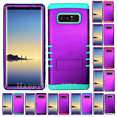 $ CDN19.13 • Buy For Samsung Galaxy Note 8 - KoolKase Hybrid Silicone Cover Case - PURPLE (R)