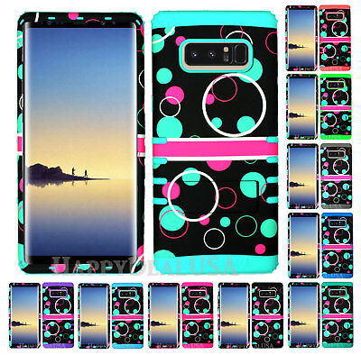 $ CDN19.13 • Buy For Samsung Galaxy Note 8 - KoolKase Hybrid Silicone Cover Case Bubble Circle 89