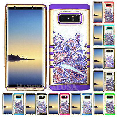 $ CDN19.13 • Buy For Samsung Galaxy Note 8 - KoolKase Hybrid Cover Case - Crystal Paisley Purple