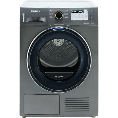View Details Samsung DV80M50133X A++ Heat Pump Tumble Dryer Condenser 8 Kg Graphite • 619.00£