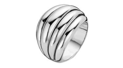 £80 • Buy New Genuine Ti Sento Sterling Silver Ring 1808SI  Size 56 £115