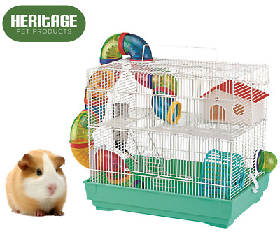 Heritage Hamster Cage Animal Play Tubes House Gerbil Mice Mouse Cages Rodents • 24.95£