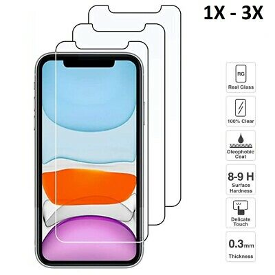AU6.21 • Buy GENUINE GORILLA Tempered Glass Screen Protector For Apple IPhone 8 7 Plus XS 6 5