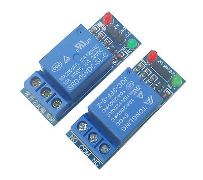 AU7.81 • Buy 2pcs 5V Single 1 Channel Relay Module Board Shield For Arduino Raspberry PI USA