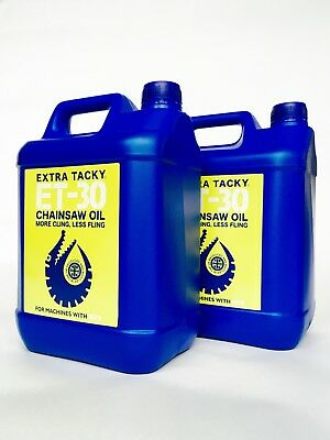 £22.95 • Buy 2 X 5 Litres GATOR CHAINSAW OIL Chain Guide Bar Pump For All Saws - DHL NEXT DAY