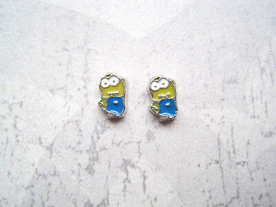 £2.99 • Buy CUTE MINIONS Or SNOOPY SP STUD EARRINGS Adults YELLOW BLUE Minion White Dog