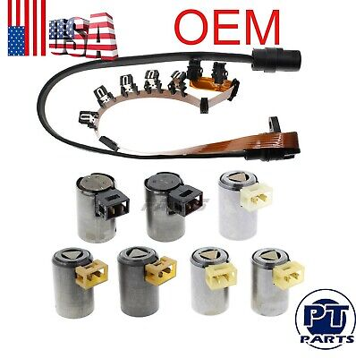 $115.99 • Buy Transmission Master Solenoid Kit Set W/ Wire Harness FOR VW JETTA 95-04 01M O1M