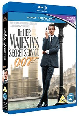 On Her Majesty's Secret Service [Blu-ray] [1969] [DVD][Region 2] • 7.16£