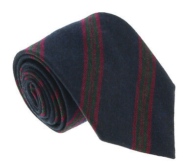 $45.99 • Buy Missoni U5144 Navy/Fuschia Regimental 100% Silk Tie