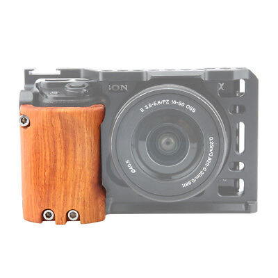 $ CDN31.19 • Buy NICEYRIG Wooden Handle Grip Handgrip For DSLR Sony A6400 A6300 A6000 Camera Cage