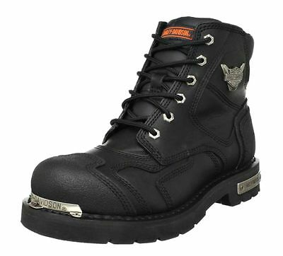 $ CDN184.66 • Buy HARLEY-DAVIDSON FOOTWEAR Mens Stealth Leather Motorcycle Riding Boots D91642