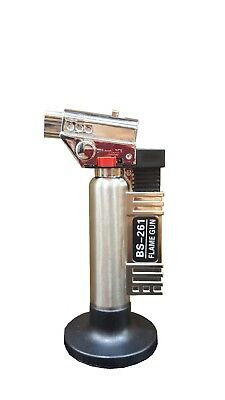 Refillable Butane Gas Micro Blow Torch Lighter Welding Soldering Brazing Tool • 15£