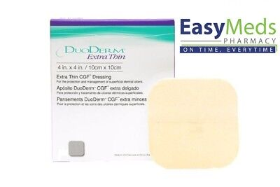 £2.89 • Buy Duoderm Extra Thin 10cm X 10cm Hydrocolloid Dressing (s) Pressure Wounds