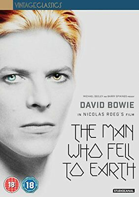 The Man Who Fell To Earth (40th Anniversary) [DVD][Region 2] • 10.69£