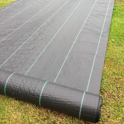 £19.99 • Buy Yuzet 100gsm Weed Control Fabric Ground Cover Membrane Garden Mat Landscape