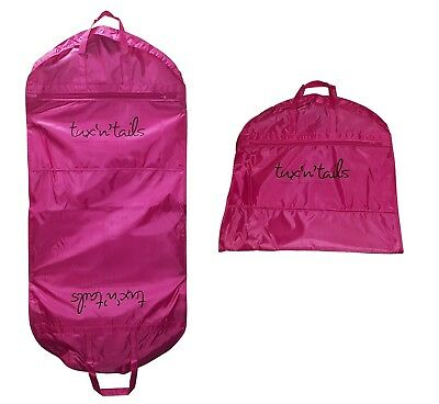 NEW  PINK STRONG SUIT CARRIER DRESS COVER BAG TRAVEL HANDLES  WATERPROOF  137cm • 9.29£