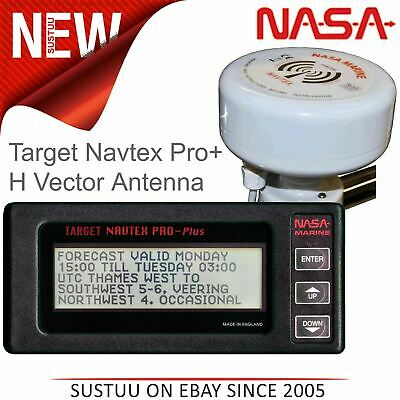 NASA Marine Target Navtex Pro Plus Receiver With H Vector Antenna│For Marine • 251.63£