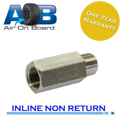 AU18 • Buy Non Return Check Valve 042 1/4 BSP One Way Valve For Air Compressor And Tank