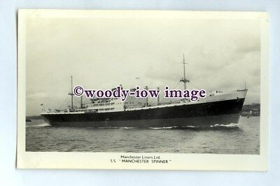 £3 • Buy Pf0141 - Manchester Liners Cargo Ship - Manchester Spinner Built 1952 - Postcard
