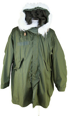 Fishtail M65 Parka GENUINE USA Army Re-Sized XXS Ladies Fit Hood Liner NEW VTG • 289.90£