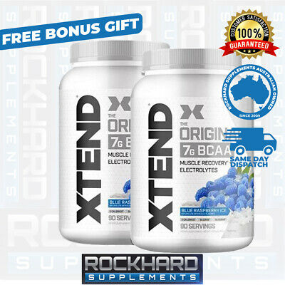 AU188 • Buy 2x Scivation Xtend BCAA 90 Serves Branched Chain Amino Acid Electrolytes