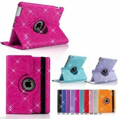 AU10.80 • Buy  IPad MINI AIR PRO 10.5 2017 2018 - 360 Rotate DIAMOND BLING Case Cover (OPT SP)