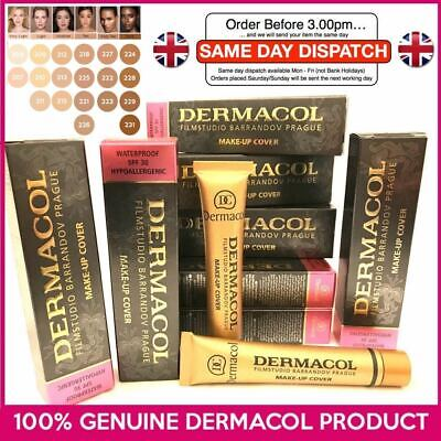 £9.99 • Buy GENUINE Dermacol Makeup Cover Legendary High Covering Camouflage Foundation UK