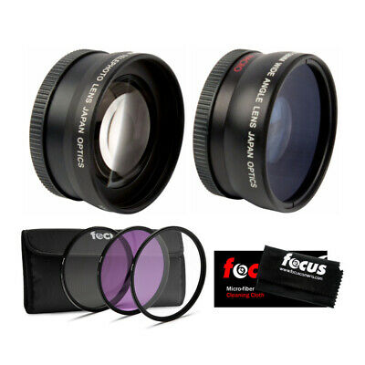 AU32.18 • Buy Essential Accessories Lens And Filter Kit For Sony A6000, A6300, A6500