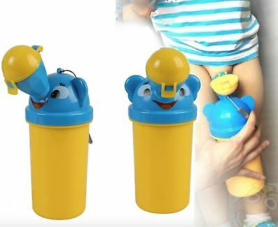 Baby Boys Portable Urinal Travel Training Toilet Car Vehicular Potty On The Go • 7.49£