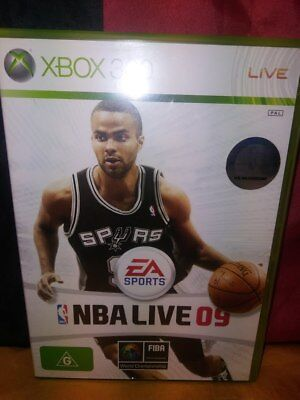 AU7 • Buy EA Sports NBA Live 09 - Microsoft Xbox 360 - Includes Manual