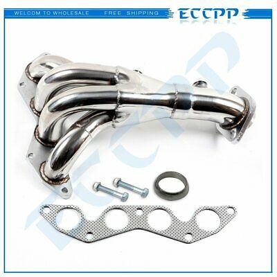 $52.89 • Buy For Honda Civic DX/LX D17A1 2001-05 1.7L Stainless Steel Exhaust Header Manifold