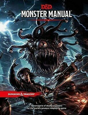 AU65.99 • Buy RPG - Dungeons And Dragons - Monster Manual  5th Edition NEW!