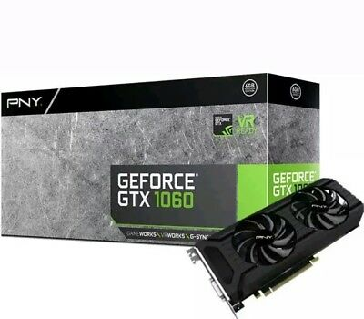 $ CDN331.73 • Buy PNY GeForce GTX 1060 DirectX 12 VCGGTX10606PB 6GB 192-Bit GDDR5 PCI Express 3.0