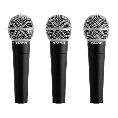 AU69 • Buy Superlux TM58 Dynamic Vocal Microphone - 3 Pack - New