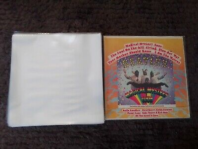 AU15.90 • Buy 25 Premium New Thick Lp / 12  Plastic Outer Record Cover Sleeves For Vinyl