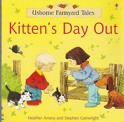 £2.95 • Buy Usborne Farmyard Tales, Kitten's Day Out, New Book