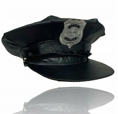 £3.99 • Buy Special Police Hat High Quality Cop Costume Fancy Dress Sexy American Force Cap