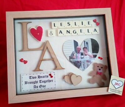 £23.99 • Buy VALENTINE'S DAY GIFT Personalised Frame Picture Anniversary Wife Girlfriend