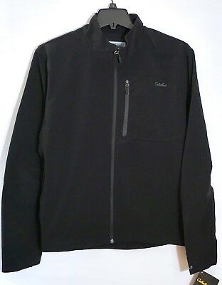 396ab29657d9a NWT $99 Cabela's Men's Black Cheyenne Jacket 4MOST WINDSHEAR, Water  Repellent, L • 39.50