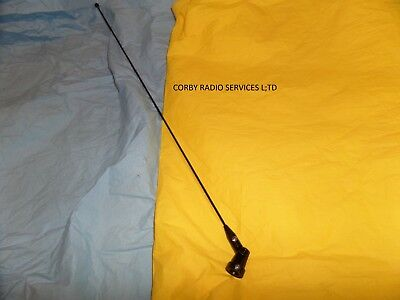 £12 • Buy Taxi Or Marine Antenna Whip & Holder  Only 144 - 179 Mhz  Hinged Pmr Ham Vhf