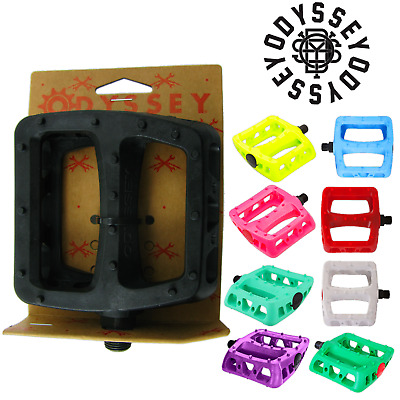 MKS Gauss Resin MTB Platform Pedals w//Pins Street and Mountain Bike Choose Color
