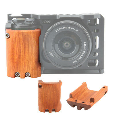 $ CDN21.90 • Buy NICEYRIG Wooden Handle Handgrip For Sony A6000 A6300 A6500 ILCE-6500 Camera Cage