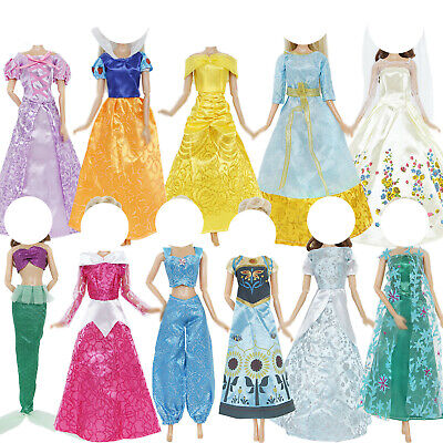 Copy Fairy Tale Princess Evening Dress Accessories Clothes For 11.5inch Doll Toy • 3.68£