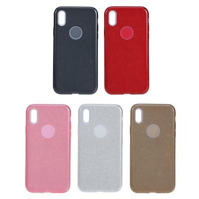 AU9.31 • Buy 3 In 1 Soft Glitter Bling TPU Phone Case Back Protective Cover For IPhone X