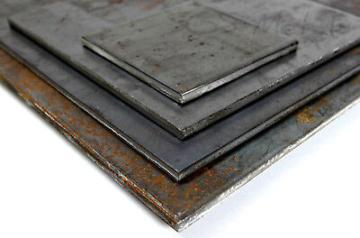 £9.74 • Buy Mild Steel SHEET 4.0 & 5.0mm Thick Guillotine Cut Pieces Metal Plate Distributor