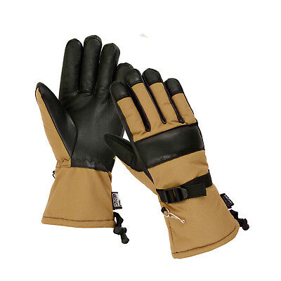 $16.95 • Buy Military Winter Cold Weather Patrol Work Gloves Long Cuff Thinsulate Waterproof