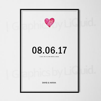 AU14.74 • Buy PERSONALISED Valentines Day Gifts For Her Him Wife Girlfriend Boyfriend LOVE