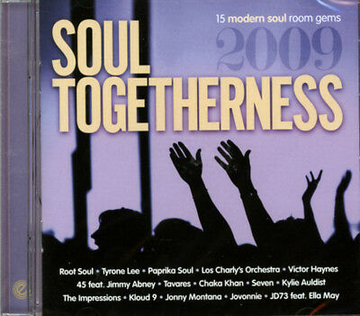 Soul Togetherness 2009   15 Modern Soul Room Gems   Cd • 11.99£
