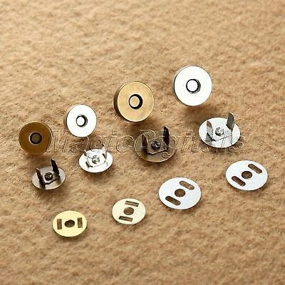 14mm 18mm Magnetic Snap Fasteners Clasps For Handbag Bags Craft Sewing Buttons • 1.68£