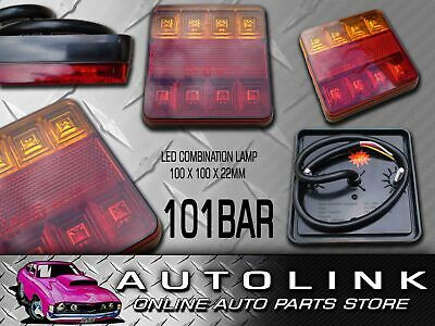 AU58 • Buy LED REAR COMBINATION LAMP TRAILER LIGHT STOP/TAIL INDICATOR FULLY SUBMERSIBLE X2